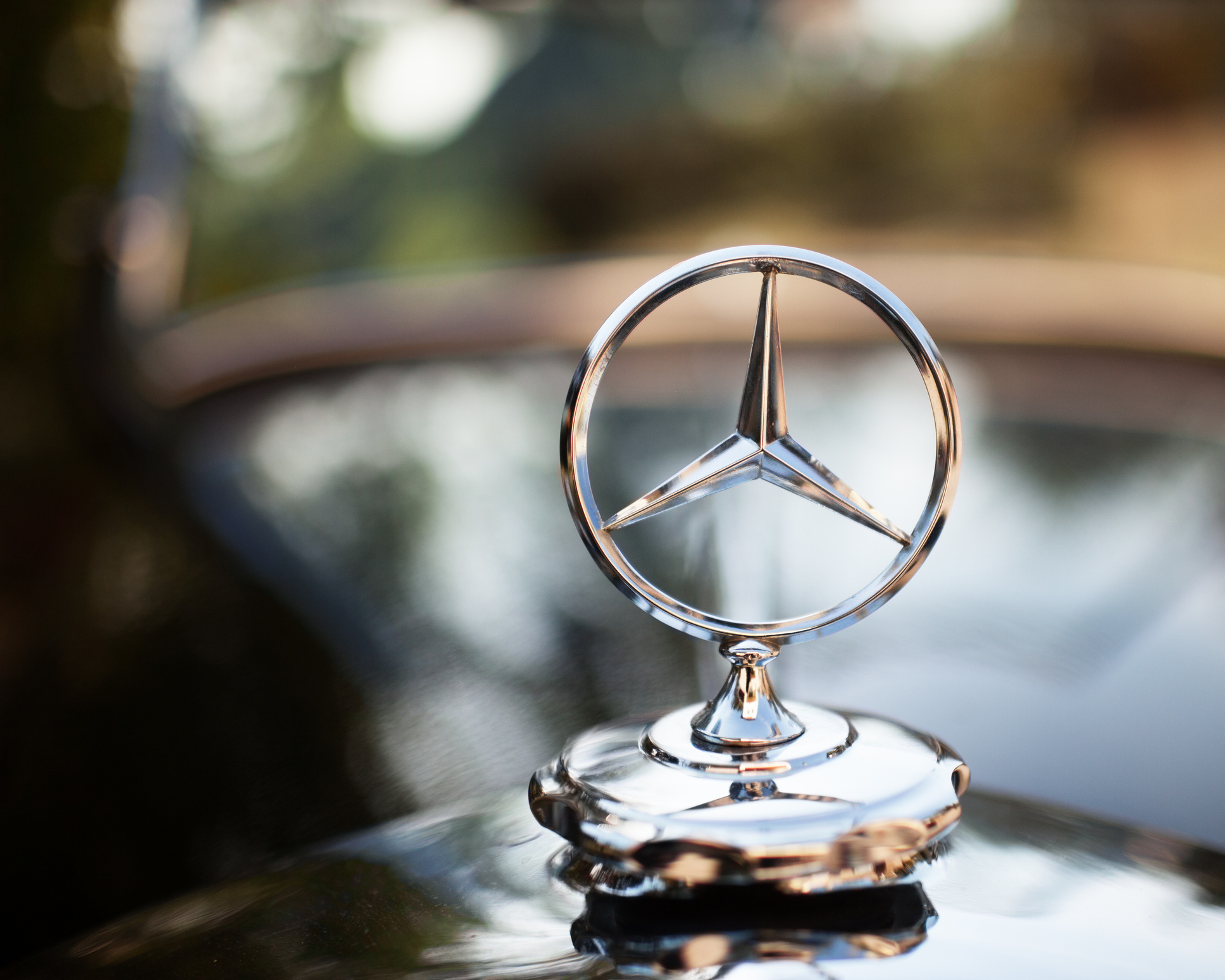 Une emblème bien connue en Allemagne, Mercedes