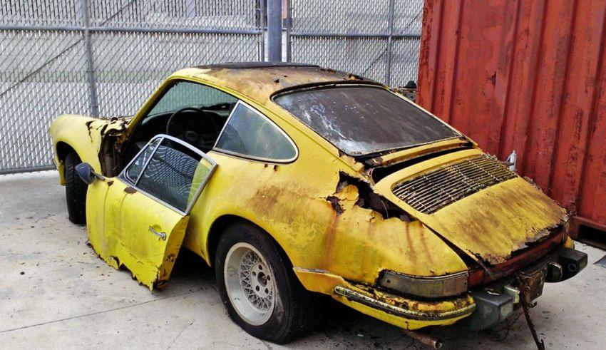 Une epave de Porsche au fond du garage ? – Blog auto Classic 911