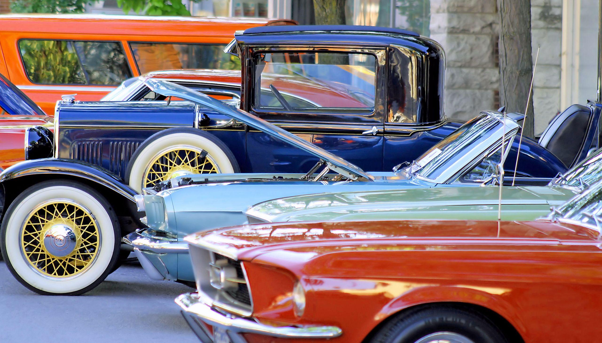 Des voitures de collections
