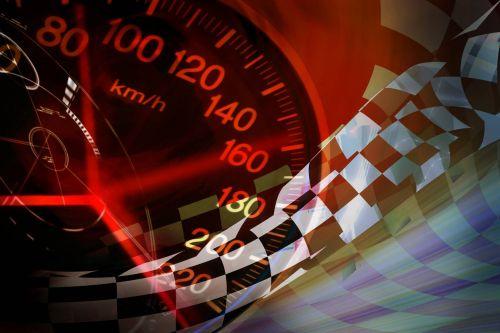 Un compteur de vitesse