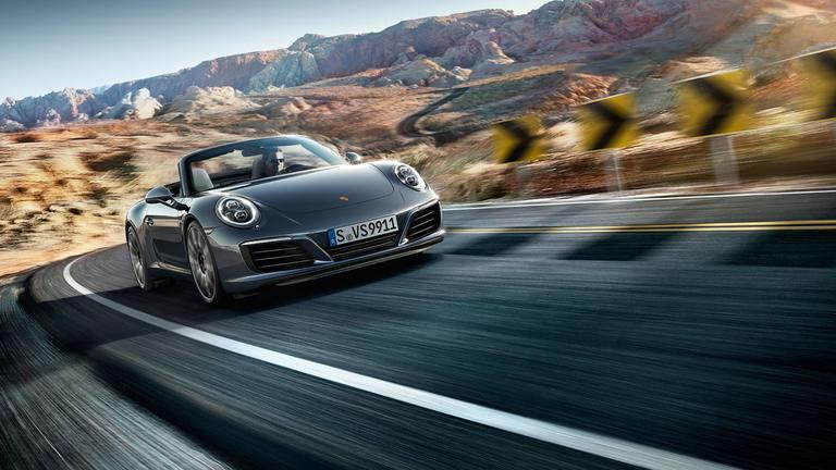 Porsche 911 Carrera cabriolet 2018