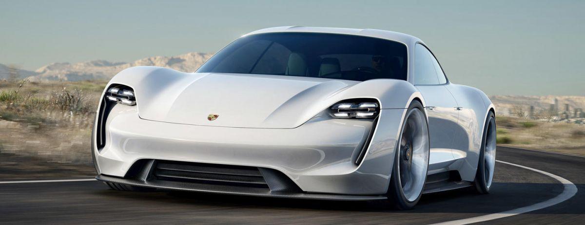 Porsche électrique Mission E